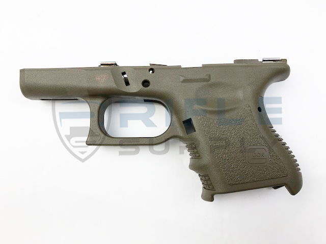 Glock 26 Gen 3 Stripped Frame Cerakoted Od Green