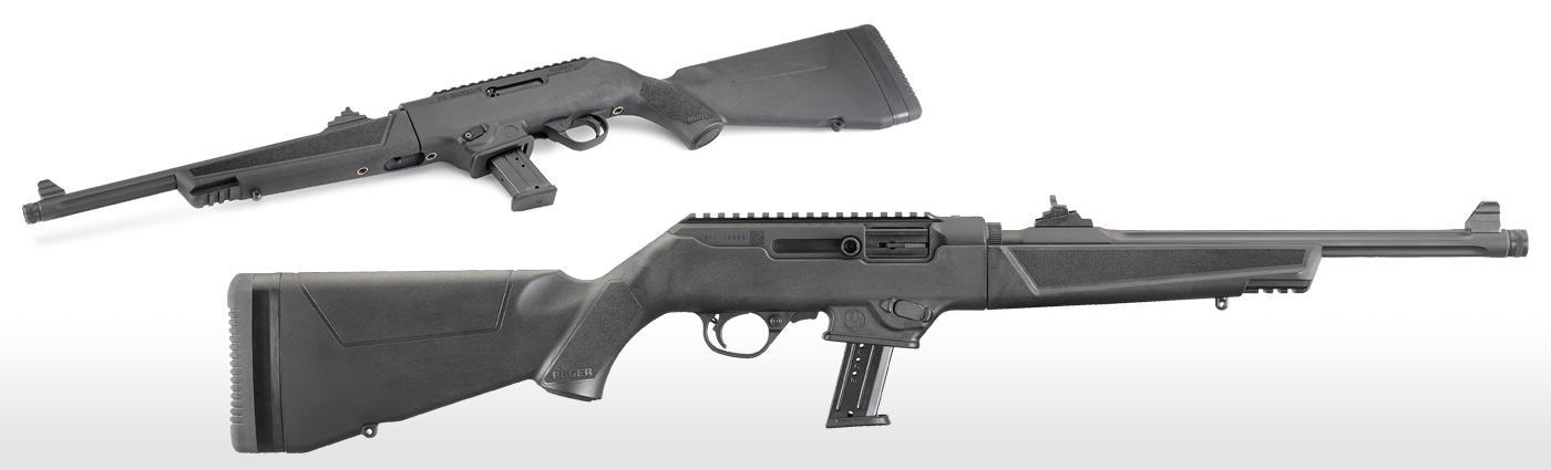 Ruger PC Carbine 9MM - Fluted and Threaded Barrel