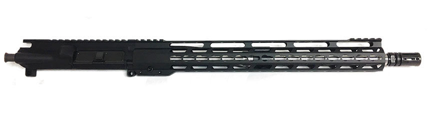 Rifle Supply Stainless Upper w/ 15 Ultra Lite Keymod Rail