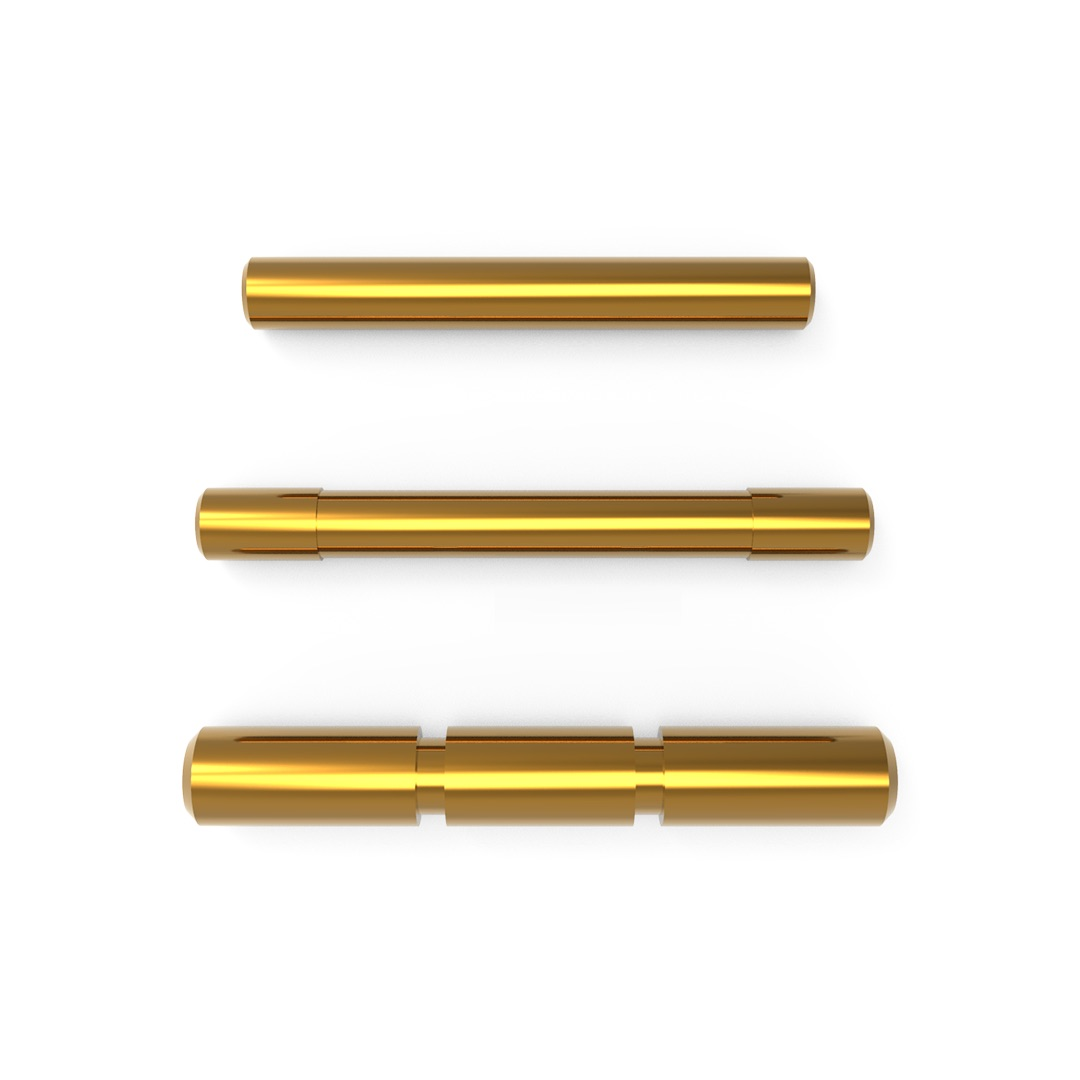 Cross Armory Dimpled Pin Set | Glock Gen 1-3 | Gold