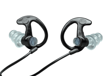 Surefire EP5 Sonic Defender Max Full Block Flanged Earplugs