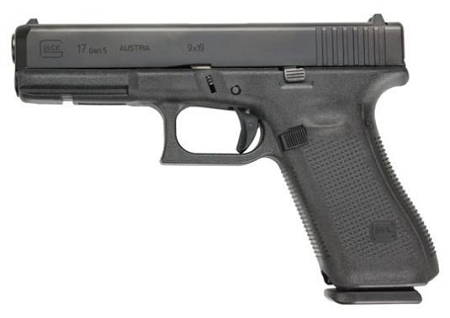 Glock 17 Gen 5 Full Size 9mm Pistol - 17+1 Capacity