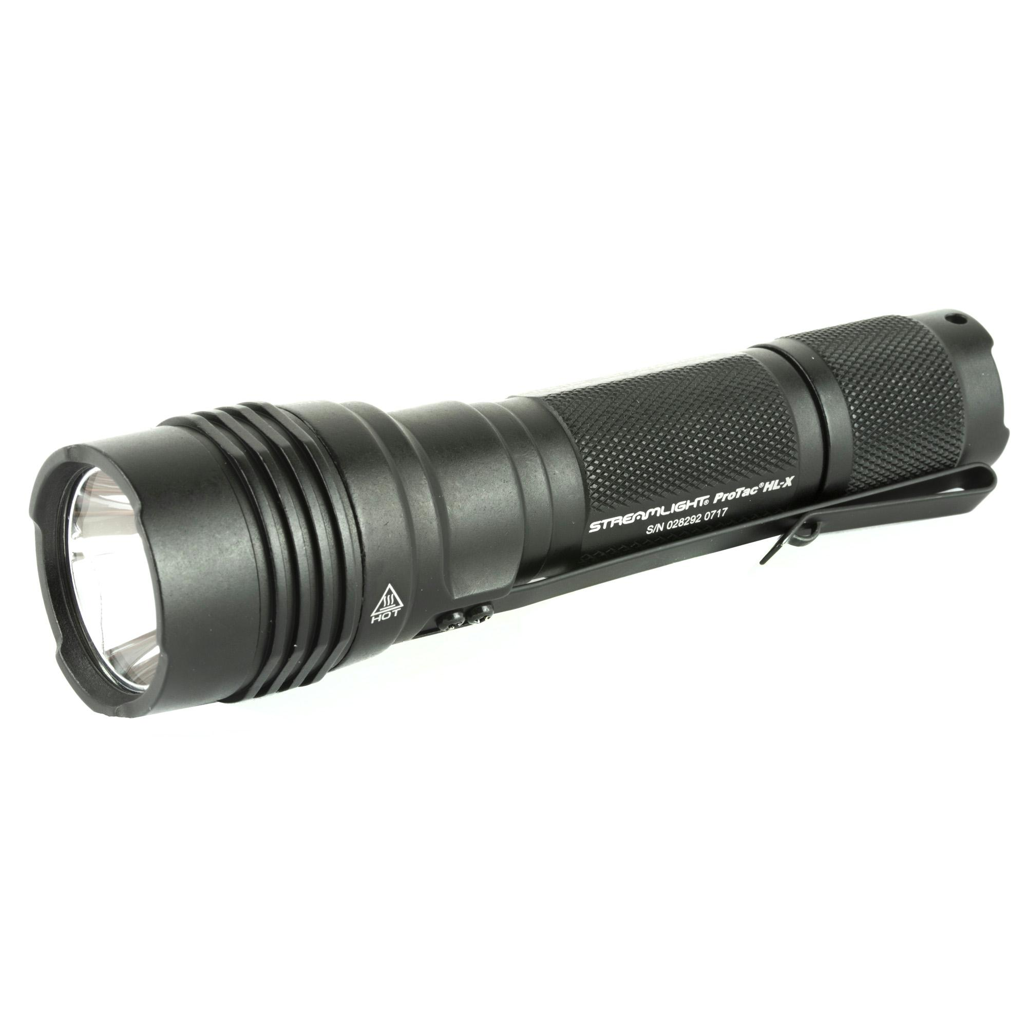 Streamlight ProTac HL-X 1000 Lumen Flashlight w/ Battery Black