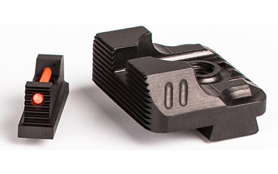 Zev Sight Set .215 Fiber Optic Front and Combat Rear Sight