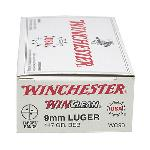 9mm Luger - WinClean, 147 Grains, Brass Enclosed Base, Per 50
