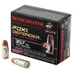 Win Defender 357sig 125 Grain Weight Jhp 20/200