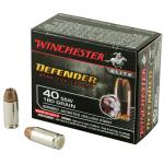Win Defender 40sw 180 Grain Weight Jhp 20/200