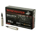 Win Ballistic Tip 308win 150 Grain Weight 20/