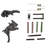 Hiperfire, Hipertouch Genesis, Trigger Assembly, Fits AR15/AR10, MIL Take-Up/Pre-Travel, Adjust Pull Weights Of 2.5 And 3.5 Lbs, Black Finish