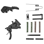 Hiperfire, Hipertouch Reflex, Trigger Assembly, Fits AR15/AR10, Virtually No Take-Up/Pre-Travel, Adjust Pull Weights Of 2.5 And 3.5 Lbs, Black Finish