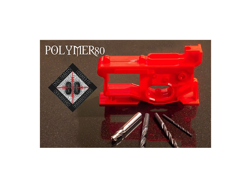 Polymer80, 308 Lower Receiver 80% w/ Jig and Tool Kit - Color Options