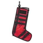 NC STAR TACTICAL STOCKING HOLIDAY W/ HANDLE RED 15