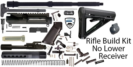 AR15 Rifle Build Kits