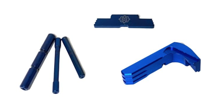 Cross Armory Glock 3 Piece Upgrade Kit | For Gen 1-3 | Blue