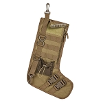 NC STAR TACTICAL STOCKING HOLIDAY W/ HANDLE TAN 15