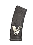 American Flag Eagle Engraved Magazine - PMAG M2 5.56 30RD