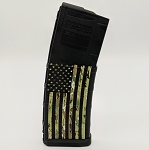 Green Camo Flag Colored Magazine - PMAG M2 5.56 30RD