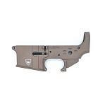 Rifle Supply Stripped Lower Receiver | FDE Cerakote | Small Crest