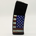 American Flag Colored Magazine - PMAG M2 5.56 30RD