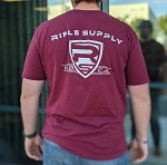 Rifle Supply T-Shirt | Maroon