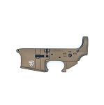 Rifle Supply Stripped Lower Receiver | Burnt Bronze Cerakote | Small Crest