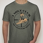 1Mile Club Tee by Trajektory