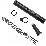 308  Mil Spec Buffer Tube Kit, Includes, spring, buffer, castle nut, end plate and buffer tube.