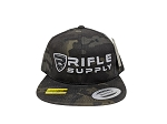 Rifle Supply Black Camo Snapback