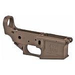 FMK Polymer AR15 Stripped Lower Receiver - Burnt Bronze