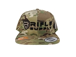 Rifle Supply Camo Snapback