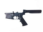 Anderson Complete Lower Receiver Black Anodized w/ Milspec Buffer Tube Kit Installed