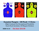 Easyshot Silhouette Targets 18