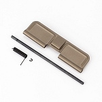 Tan AR-15 Upper Receiver Ejection Port Dust Cover Kit