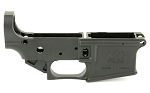 FMK Polymer AR15 Stripped Lower Receiver - Black