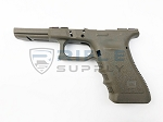 Glock 17, 22, 34 Gen 3 Stripped Frame - Factory OD Green