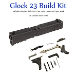 Glock 23 Gen 3 Build Kit - Compact 40 S&W Slide and Lower Parts Kit