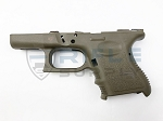 Glock 26 Gen 3 Stripped Frame - Cerakoted OD Green