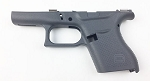 Glock 43 Stripped Frame - Cerakoted Tactical Gray