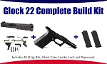 Glock 22 Polymer80 40 S&W Complete 80% Build Kit