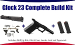 Glock 23 Polymer80 40 S&W Complete 80% Build Kit