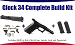 Glock 34 Polymer80 9mm Complete Build Kit