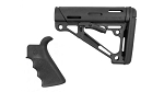 Hogue Mil Spec Collapsible Stock and Grip Kit - Black