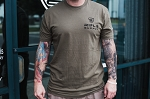 Rifle Supply Next Level T-Shirt - OD Green