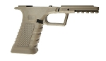 Polymer80 Spectre Glock 80% Pistol Frame with Jig and Bits - Flat Dark Earth