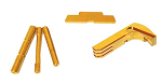 Cross Armory Glock 3 Piece Upgrade Kit | For Gen 1-3 | Gold