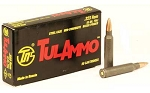 TULA 223REM 55GR FMJ NC 20 Rounds