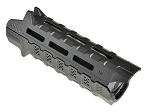 Strike Ind Link Keymod and M-lok Rail Section with QD Mount - 7 Rail Slots