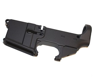 AR-15 80% Lower Receiver - Black Anodized - Laser Engraving Available