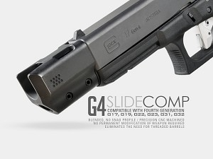 Strike Industries Glock Gen 4 Slide Comp - Fits Gen 4 Glock 17 or 19 Only