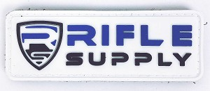 Rifle Supply Patch - White